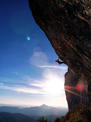 Rock climbing - scaling
